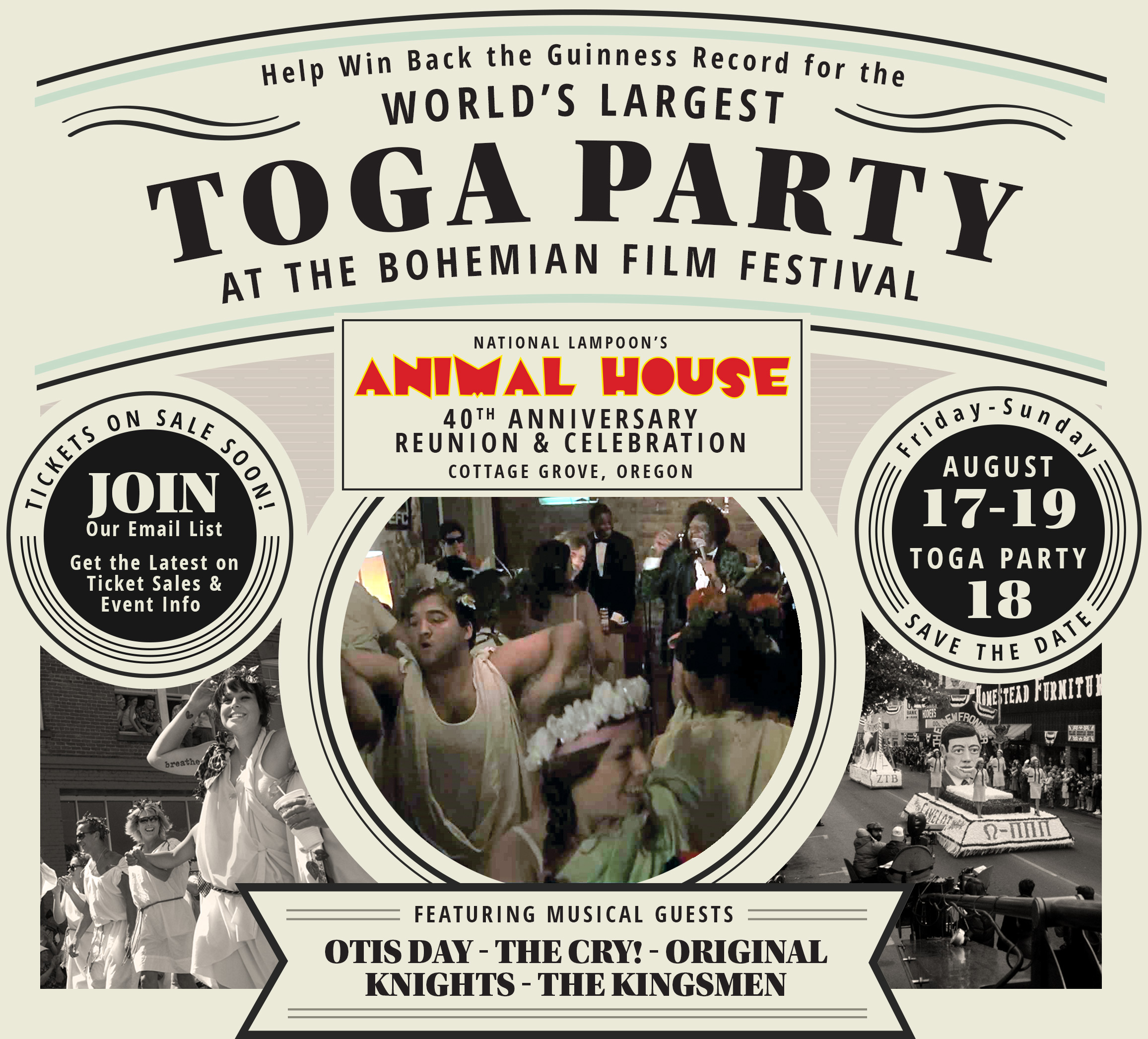 Now Wait a Minute… World-record Grabbing Toga Party